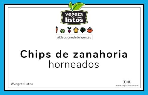 Jul19 17 Chips de zanahoria horneados