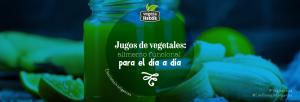 Jugos de vegetales: alimento funcional para el dia a dia