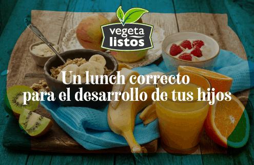 Un lunch correcto para el desarrollo de tus hijos