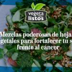 Mezclas poderosas de hojas y vegetales para fortalecer tu salud frente al cáncer