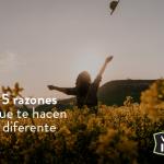 5 razones que te hacen diferente
